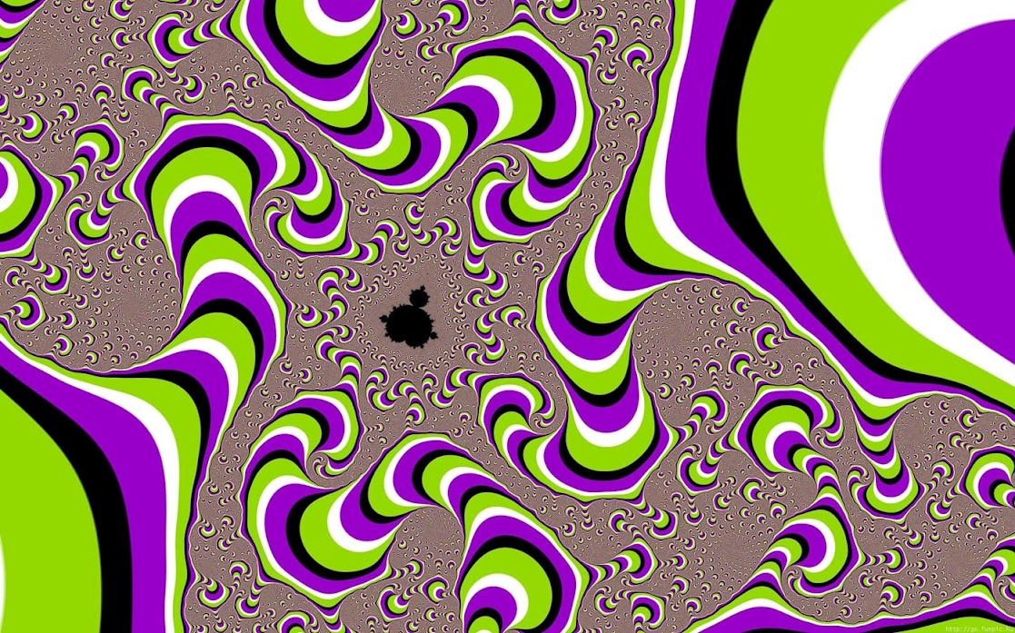 Rotating Snake Optical Illusion